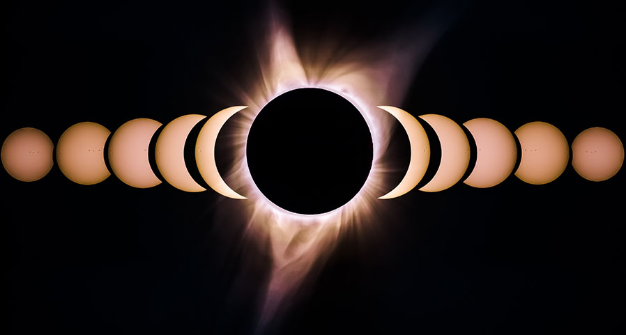 Path of a Solar Eclipse